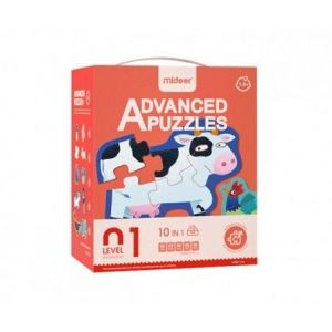 Mideer Advanced Puzzles Level 1 - Animals 1.5+