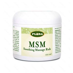 Flora MSM Soothing Rub 120ml