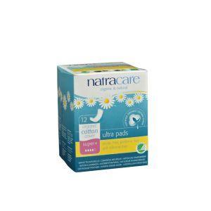 Natracare Organic Ultra Pads 12 Super Plus
