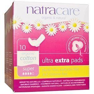 Natracare Organic Ultra extra pads 10 Pads Super
