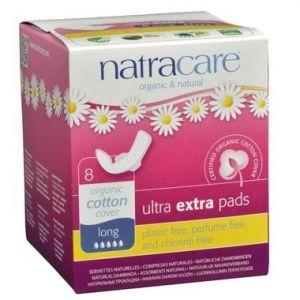 Natracare Organic Ultra extra pads 8 Pads Long