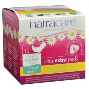 Natracare Organic Ultra extra pads 12 Pads Normal