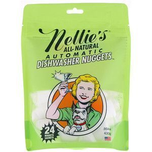 Nellie's All Natural Automatic Dishwasher Nuggets - 24 Loads