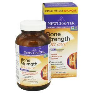 New Chapter Bone Strength Take Care Bonus Pack 144 Tablets