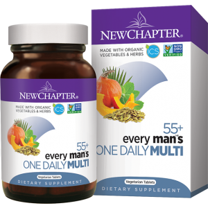 New Chapter Every Man's One Daily Multi 55+ 48 Tablets
