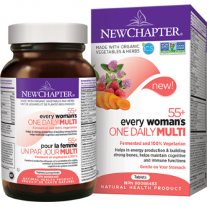 New Chapter Every Woman's One Daily 55+ 48 Tablets