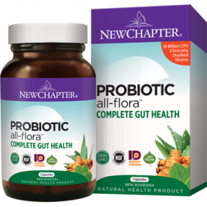 New Chapter Probiotic All-Flora Complete Gut Health 60 capsules