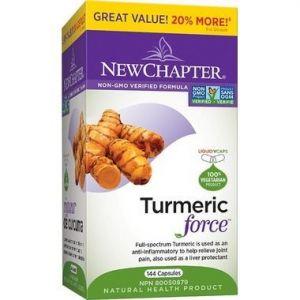 New Chapter Turmeric Force Bonus Size 144Capsules