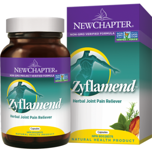 New Chapter ZYFLAMEND Joint Relief 120 Capsules