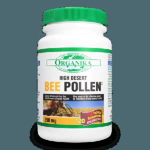 Organika Bee Pollen 250mg 120 Tablets