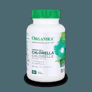 Organika Chlorella 500mg 100 Tablets