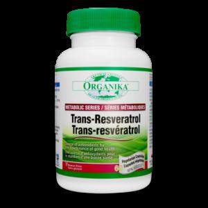 Organika Trans-Resveratrol 200mg 60Vcapules