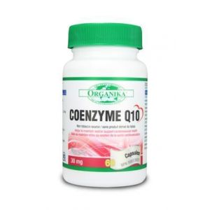 Organika Coenzyme Q10 30mg 60Capsules