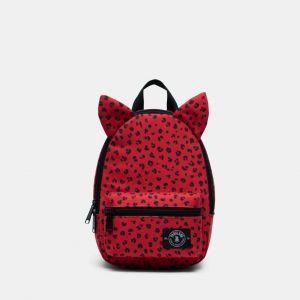 Parkland Little Monster Backpack Bag - Red Leopard