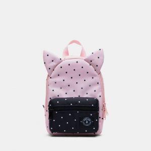 Parkland Little Monster Backpack Bag - Polka Dots Quartz