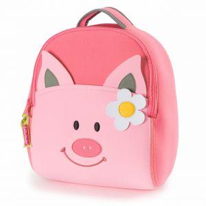 DabbaWalla Machine Washable Preschool Backpack - Piglet