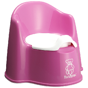 BabyBjorn Potty Chair - Pink