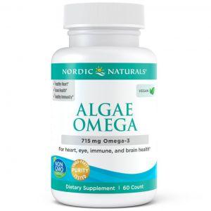 Nordic Algae Omega 3 650mg 60Sgels