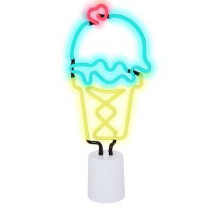 SunnyLife Ice Cream Neon Light Large