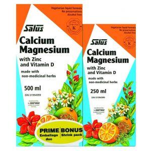 Salus Calcium Magnesium Shrink 500ml+250ml