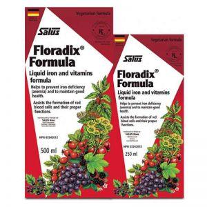 Salus Floradix Iron Shrink 500ml+250ml
