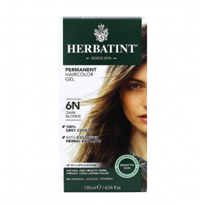 意大利Herbatint天然植物染发剂 6N-深亚麻色 40余年无氨植物染发专家 孕妇可用