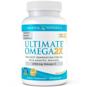 Nordic Naturals Ultimate Omega 2X 60 softgels