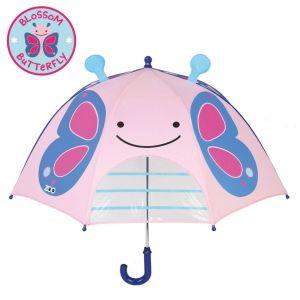Skip Hop Zoobrella Little Kid Umbrella - Butterfly