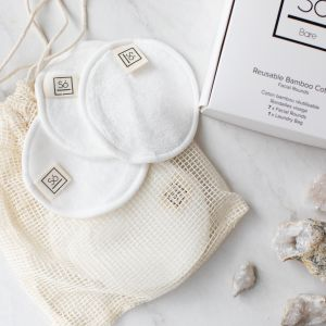 So Luxury Bare Reusable Bamboo Cottom - Cotton Rounds
