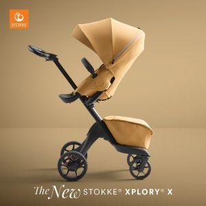 Stokke Xplory X Stroller - Golden Yellow