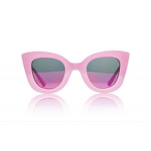 Sons + Daughters Sunglasses Cat-Cat Pink with Fire Mirror