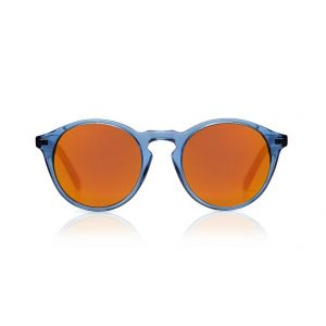 Sons + Daughters Sunglasses Clark Sun Blue Jelly with Mirror