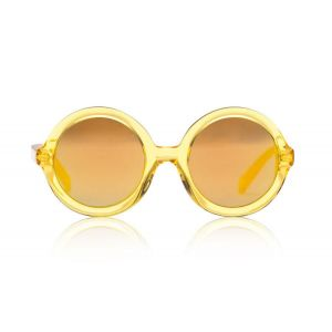 Sons + Daughters Sunglasses Lenny Yellow Jelly Mirror
