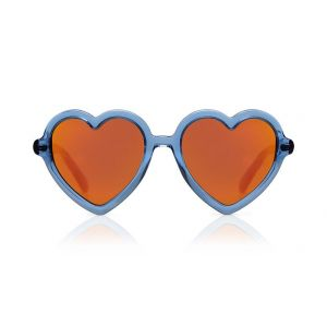 Sons + Daughters Sunglasses Lola Blue Jelly with Mirror