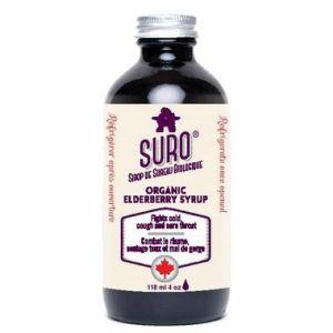 Suro Organic Elderberry Syrup Kids 118ml