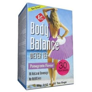 Uncle Lee's Body Balance Dieter Tea Pomegranate Flavour 60g 30Tbags