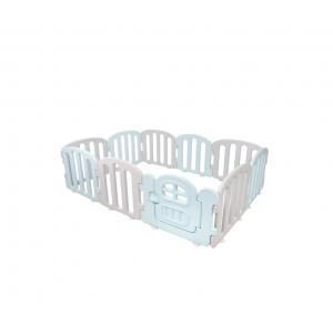 Ifam First Baby Room 140 x 200 - Cream Blue+Light Gray 10Ea
