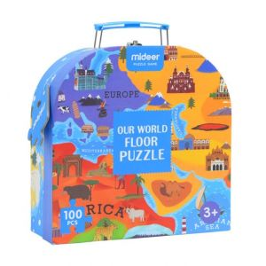 Mideer Our World Floor Puzzle 100 Pieces 3Years+