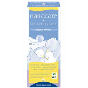 Natracare Organic Maternity Pads 10ct