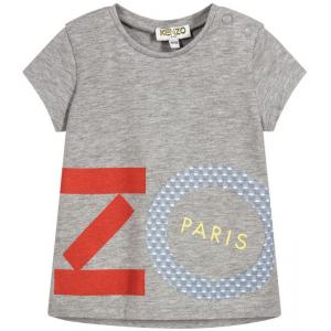 Kenzo Kids Baby Girls Cotton Logo T-Shirt - 9M