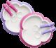 BabyBjorn Baby Plate Spoon & Fork-Pink/Purple 2pack